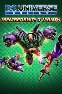Carátula del juego DC Universe Online 3-Month Membership para Xbox One