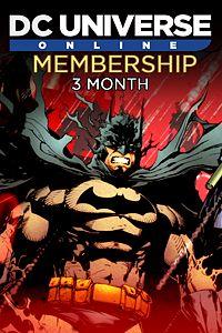 Carátula del juego DC Universe Online 3-Month Membership
