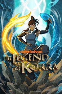 Carátula para el juego The Legend of Korra de Xbox 360