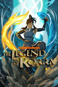 Carátula del juego The Legend of Korra