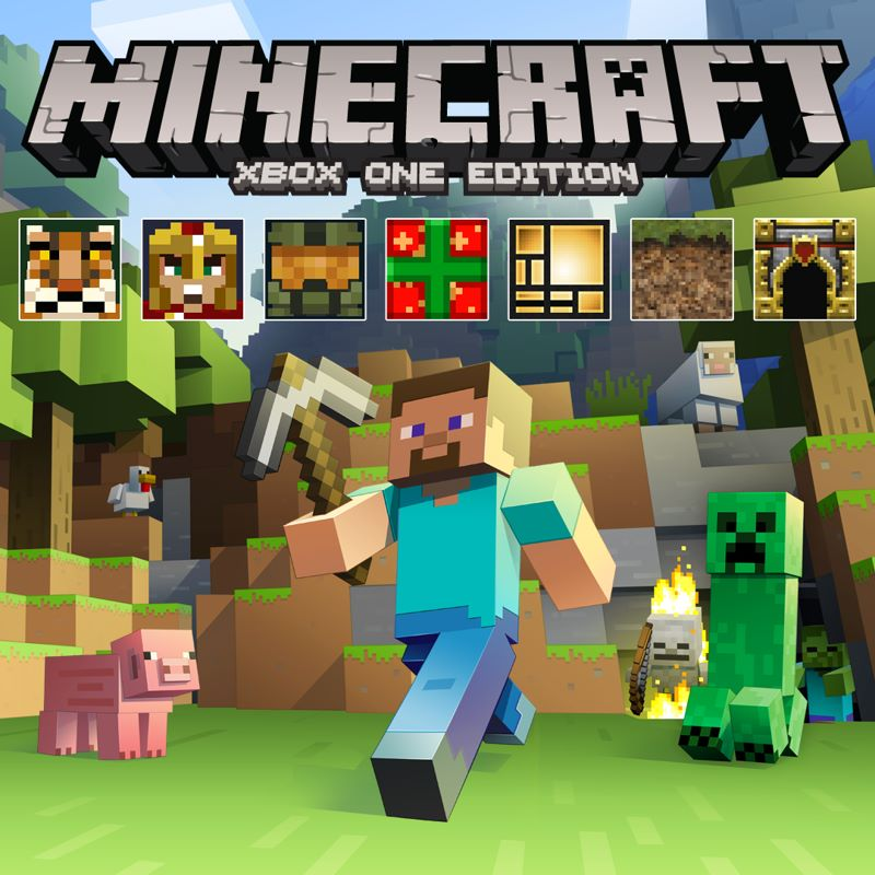 Minecraft Xbox One Edition FavouritesPaket Xbox One Buy Online - Minecraft pc mit xbox spielen