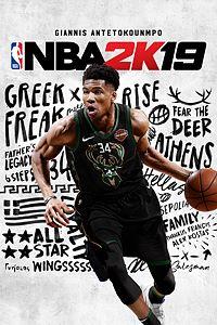 Carátula para el juego NBA 2K19 de Xbox One