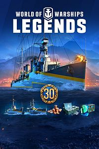 Carátula del juego World of Warships: Legends – Deluxe Edition