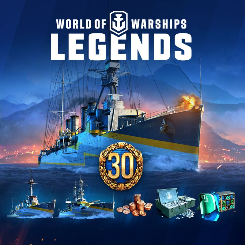 """""""World of Warships: Legends"""" – Deluxe-Edition"""