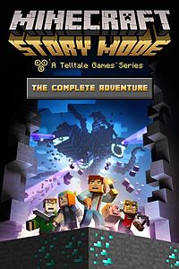 Carátula del juego Minecraft: Story Mode - The Complete Adventure (Episodes 1-8) de Xbox One