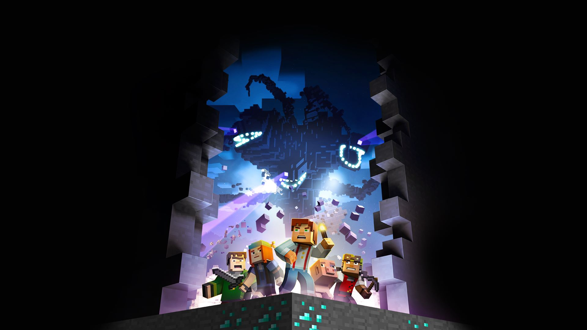 Buy Minecraft Story Mode The Complete Adventure Episodes 1 8 Set Pc Gaming