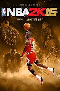 Carátula para el juego NBA 2K16 Michael Jordan Special Edition de Xbox 360