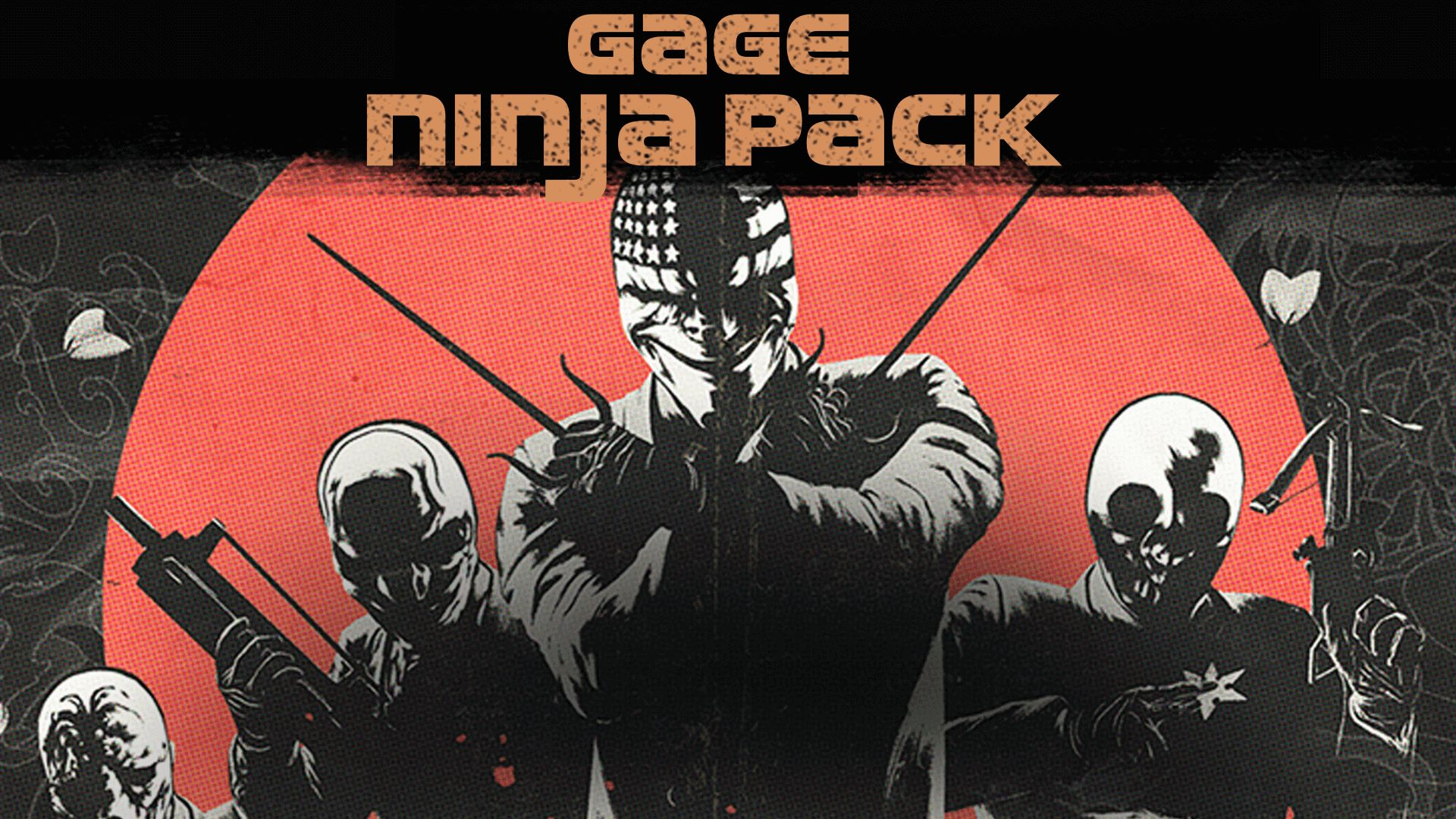 Payday  Crimewave Edition The Gage Ninja Pack