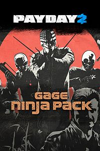 Carátula del juego PAYDAY 2: CRIMEWAVE EDITION - The Gage Ninja Pack