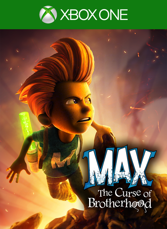 Max: The Curse of Brotherhood boxshot