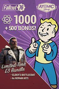 Carátula del juego Fallout 76: E3 Bonus Atom Bundle