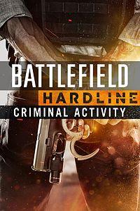 Carátula del juego Battlefield Hardline Criminal Activity de Xbox One