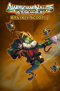 Carátula del juego Bravely Scoop IV: Eternal Fantasy - Awesomenauts Assemble! Skin de Xbox One