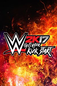 Carátula del juego WWE 2K17 MyPlayer Kick Start de Xbox One