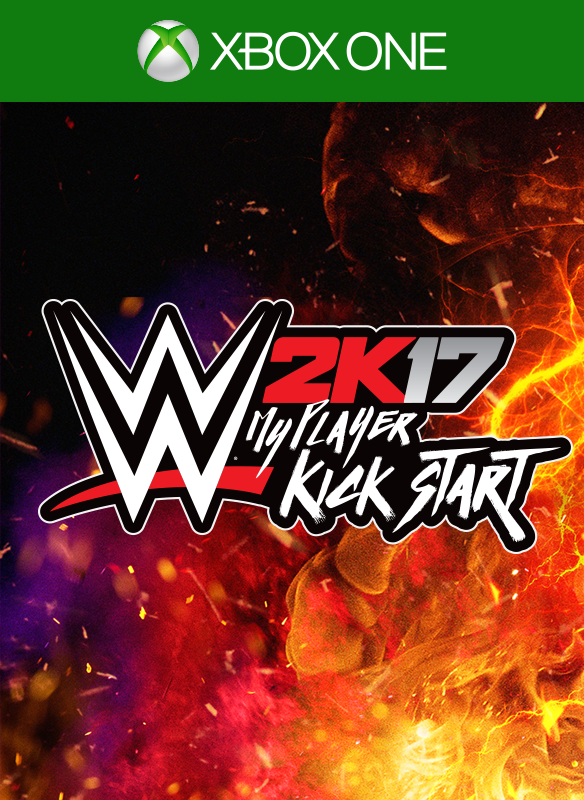 WWE 2K17 MyPlayer Kick Start boxshot