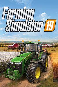 Carátula para el juego Farming Simulator 19 de Xbox One
