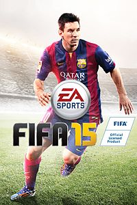 Carátula del juego FIFA 15