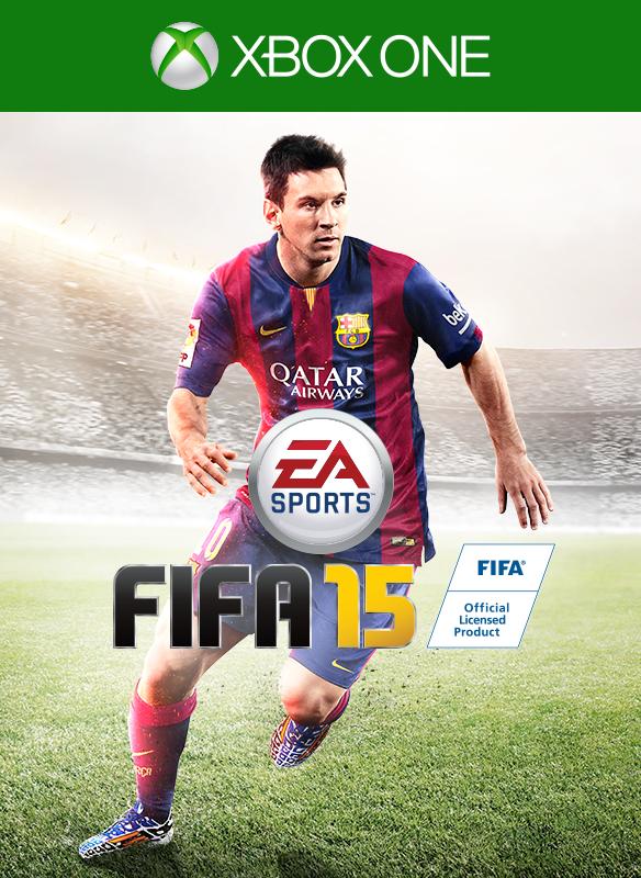 FIFA 15 boxshot