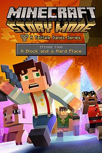 Carátula del juego Minecraft: Story Mode - Episode 4: A Block and a Hard Place