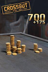 Carátula del juego Crossout - 700 (+175 Bonus) Coins