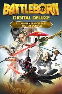 Carátula para el juego Battleborn Digital Deluxe de Xbox 360