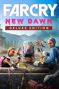 Carátula para el juego Far Cry New Dawn Deluxe Edition de Xbox 360