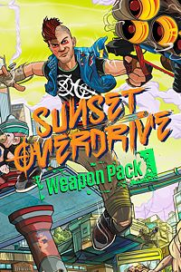 Carátula del juego Sunset Overdrive Weapon Pack de Xbox One
