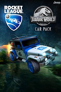 Carátula del juego Rocket League - Jurassic World Car Pack
