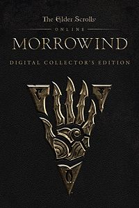 Carátula del juego The Elder Scrolls Online: Morrowind Collector's Edition