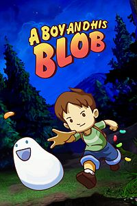 Carátula del juego A Boy and His Blob