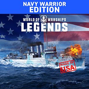 World of Warships: Legends. Navy Warrior Xbox One