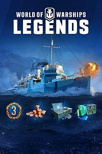 WorldofWarships: Legends. Guerrier de la Navy