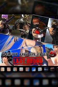 Carátula del juego Dead or Alive 5 Last Round Free Bonus Set