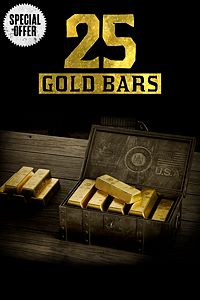 Carátula del juego One Time Special Offer: 25 Gold Bars