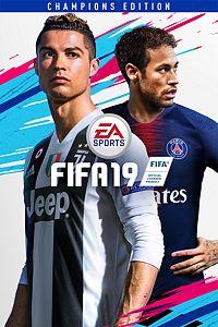 Carátula del juego FIFA 19 Champions Edition