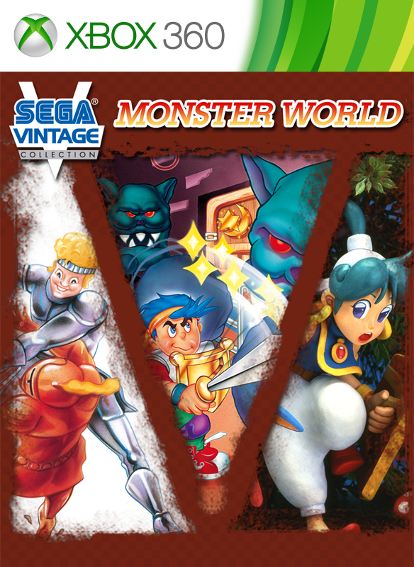 Sega Vintage Collection: Monster World boxshot