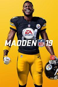 Carátula del juego Madden NFL 19