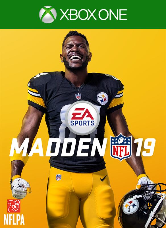 Madden NFL 19 boxshot