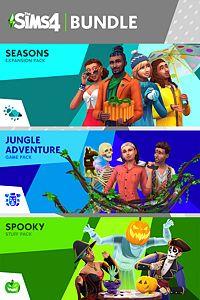 The Sims™ 4 Bundle - Seasons, Jungle Adventure, Spooky Stuff