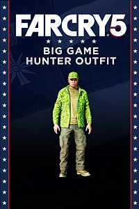 Carátula del juego FAR CRY 5 - Big Game Hunter outfit