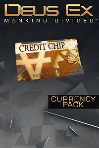 Carátula del juego Deus Ex: Mankind Divided - 1000 Credits Pack