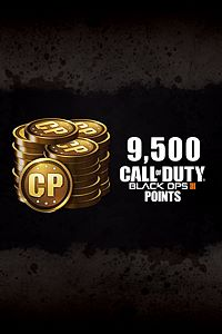 Carátula del juego 9,500 Call of Duty: Black Ops III Points