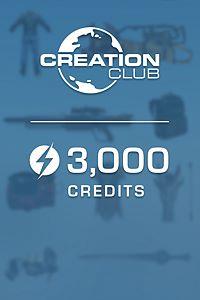 Carátula del juego Fallout 4 Creation Club: 3000 Credits