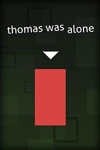 Carátula del juego Thomas Was Alone para Xbox One