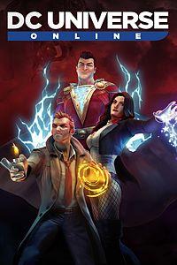 Carátula del juego DC Universe Online
