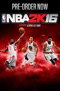 Carátula del juego NBA 2K16 PreOrder Edition