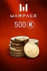 Carátula del juego Warface - 500 Kredits