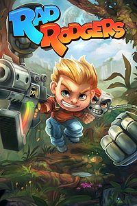 Carátula para el juego Rad Rodgers de Xbox 360