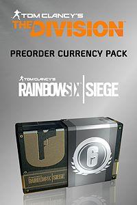 Carátula para el juego Rainbow Six Siege – Tom Clancy's The Division Pre-order Currency Pack de Xbox 360