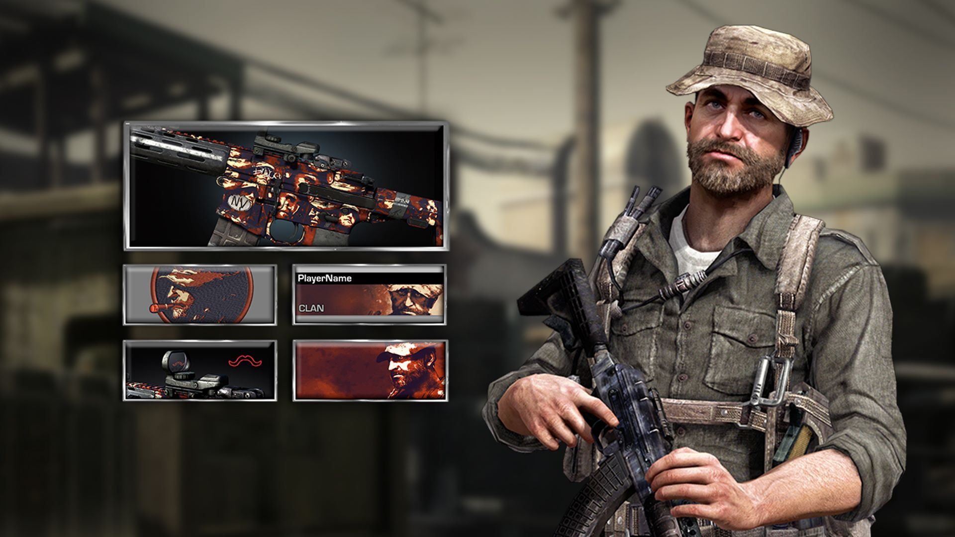 Captain Price Dlc Camo Character – HD Wallpapers